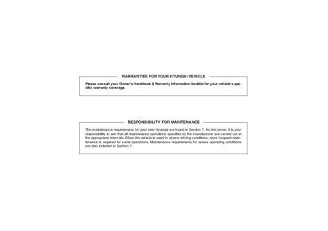 2009 Hyundai Sonata Owners Manual
