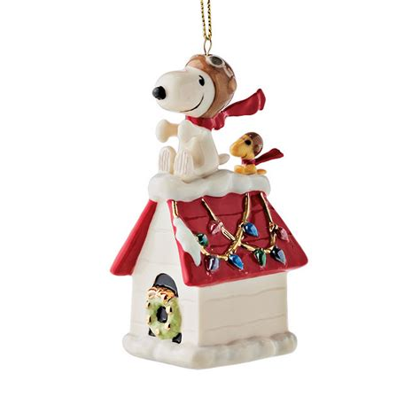 snoopy woodstock christmas ornament gump s