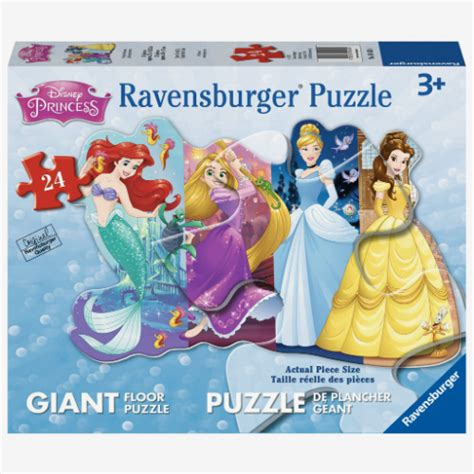 Disney Princess Floor Puzzle - disney pretty princesses shaped floor puzzle smart toys