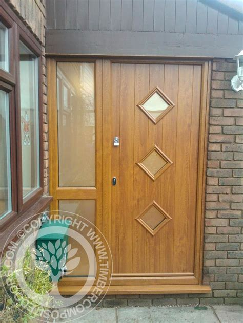 side panel curtains for doors solidor conway composite door in black with matching