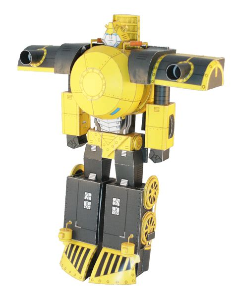 Robot Papercraft - papercraft changeable robots actually transform