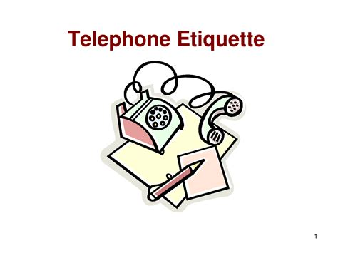 7 Crucial Tips On Telephone Etiquette by Diary Of A Bencher
