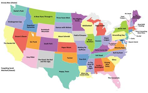 all fifty states map the 50 states