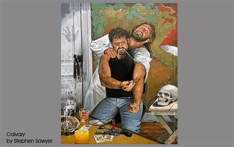 Calvary Detox by Stephen Sawyer Christian Artist Christian Addiction