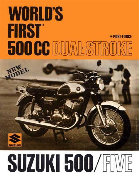 Suzuki Ad Suzuki T 500