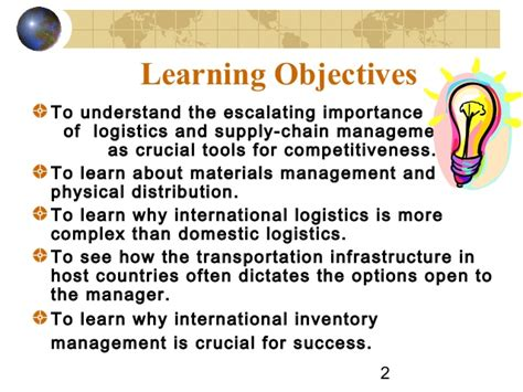 Distance Mba In Logistics And Supply Chain Management by Logistics Supply Chain Management