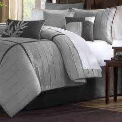 Plain White Duvet Cover Queen Madison Park Meyers Grey 7 Piece Solid Casual Pattern