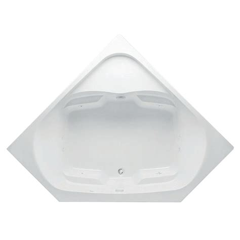 Bathtub Drain Location by Aquatic Cavalcade 5 Ft Center Drain Acrylic Whirlpool