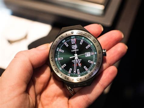 tag android tag heuer doubles on luxury smartwatches with the connected modular android central