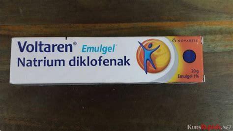 Obat Voltaren tersedia dalam bentuk krim gel tablet berikut harga