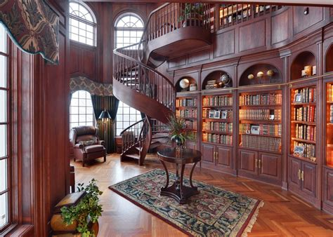 Victorian Leather Armchair Victorian Library Photos Hgtv