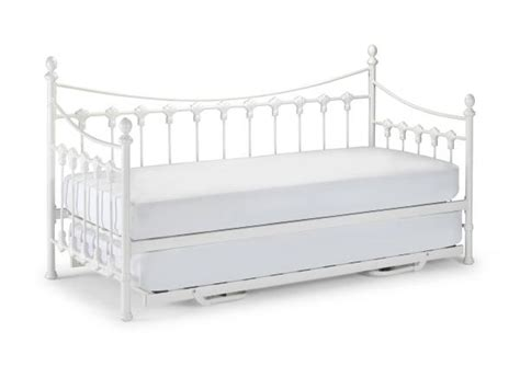 Daybed With Mattress Versailles Metal Day Bed With Or Without Trundle And Mattresses Ebay