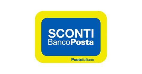sconto banco posta poste italiane sconti bancoposta