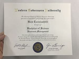 Western Governors Mba Healthcare Management by Buy Certificate Buy Diplomas Buy College