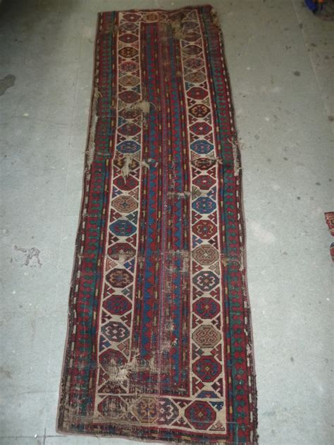 Putting Two Rugs Together by Small Runner Two Border Parts Of A Caucasian Carpet Put