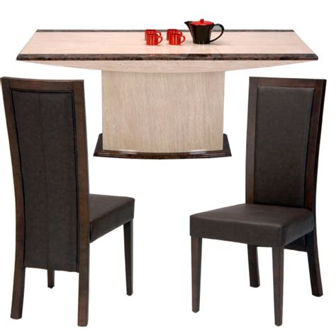 Marble Table And Chairs by Buy Marble Dining Table And 6 Chairs Furniture In Fashion