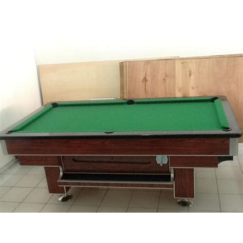 Meja Billiard 7 Fit meja billiard 7ft meja marmer bola tanggung elevenia