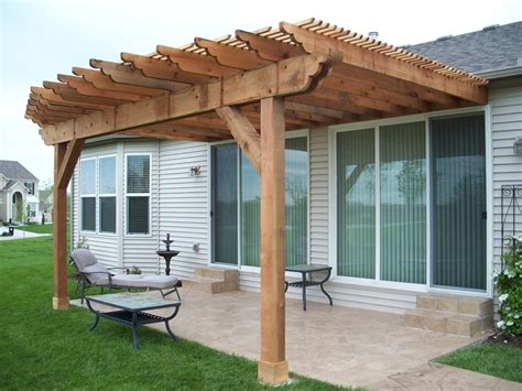 attached convex curve pergola built by dw elite decks in