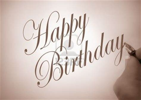 write happy birthday in design illustration of person writing happy birthday in