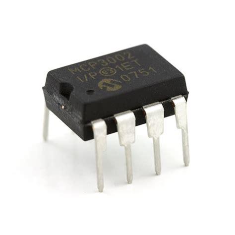 digital to analog to digital converter mcp3002 08636
