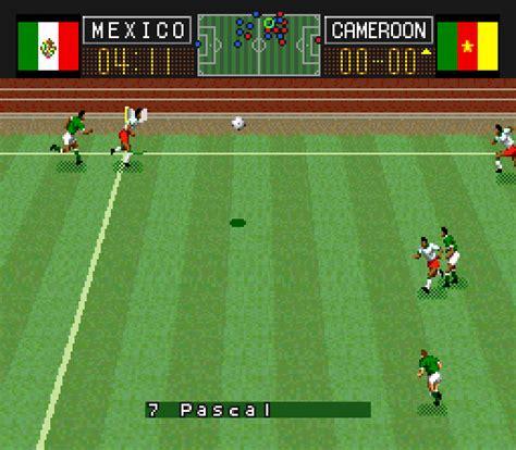 soccer shootout capcom s soccer shootout screenshots gamefabrique