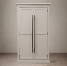 Restoration Hardware Bar Cabinet Restoration Hardware 20th C Brass Bar Pull Glass 4 Door Cabinet Home Decor