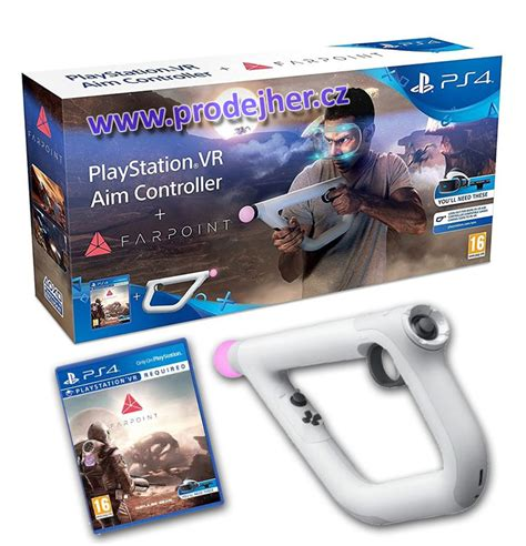 Ps Vr Farpoint Reg 3 Aim Controller Bundle ps4 hern 237 doplňky na playstation 4