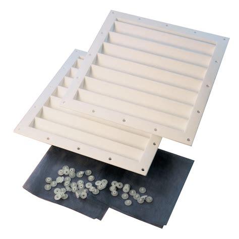 shop shelterlogic white polyurethane storage shed vent kit