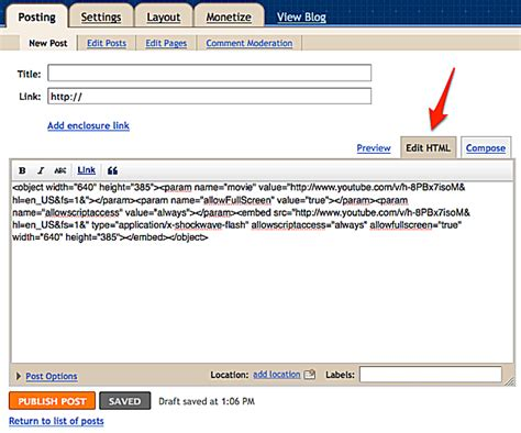 blogger embed code how to embed youtube videos find the share button