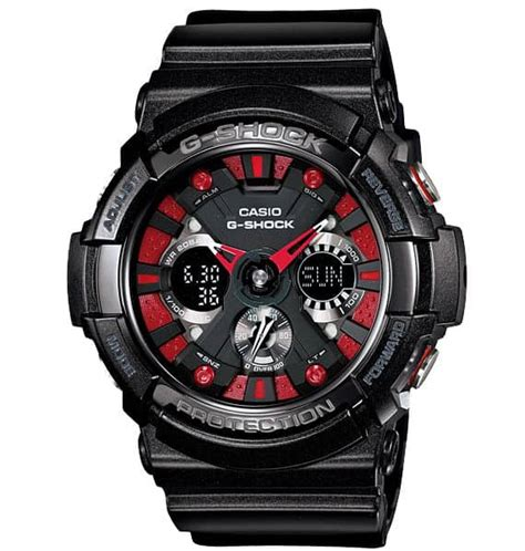 G Shock Ga 200 Black Green casio g shock ga 200sh metallic color watches unfinished