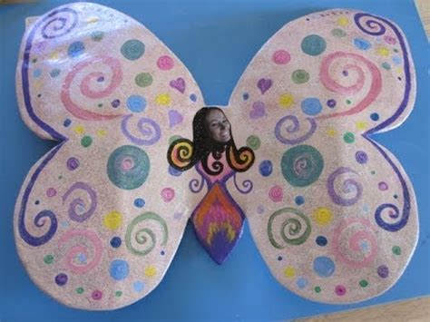 How To Make A Paper Mache Butterfly - how to make a paper mache butterfly