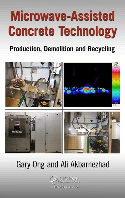 reference books concrete technology microwave assisted concrete technology production