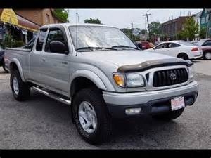 2002 Toyota Tacoma Road Parts 2002 Toyota Tacoma Sr5 5 Speed 4wd Up