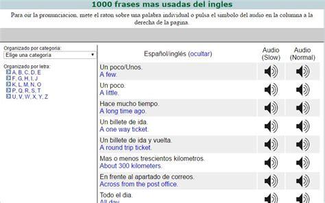 preguntas en ingles mas usadas las 1500 palabras m 225 s usadas en ingl 233 s y su pronunciaci 243 n