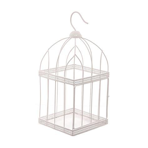 unique gift shop 44cm square wire bird cage