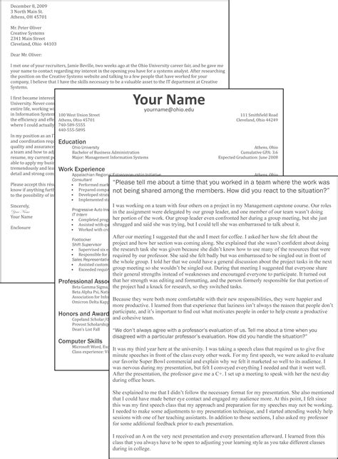 should my resume have a cover letter cv cover letter