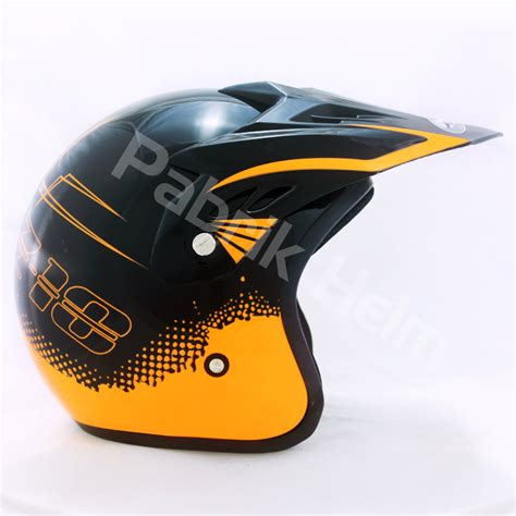 Helm Semi Cross Combinasi Warna helm jpn cross pc18 motif z18 hitam pabrikhelm jual helm murah