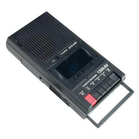 cassette recorders califone 1300av portable mono cassette recorder 1300av b h