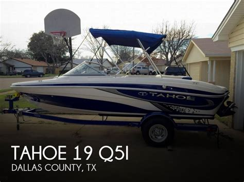 tahoe ski boats reviews tahoe 19 q5i for sale in irving tx for 20 999 pop yachts