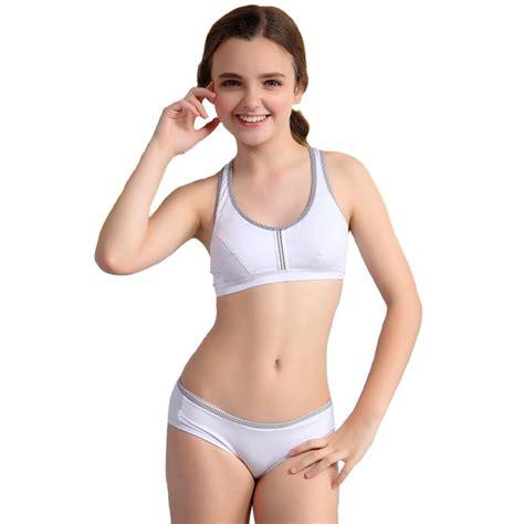 Bra Sport Models Breathable High aliexpress buy wofee puberty student sports bra breathable cotton net dot