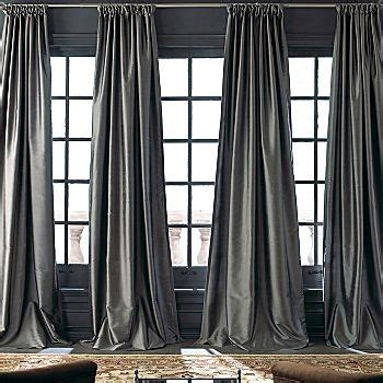 Floor To Ceiling Curtains The Ceiling To Floor Drapes Bedroom Gray White Yellow Pinte