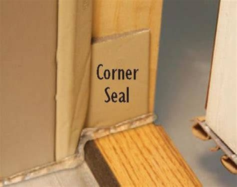 Exterior Door Bottom Weather Seal Mastercraft Corner Seal Weatherstrip For Ext Doors At Menards 174