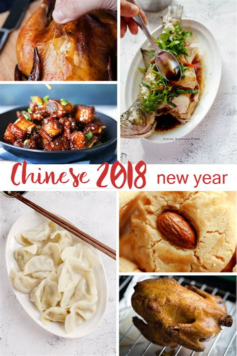 new year food new year recipes china sichuan food