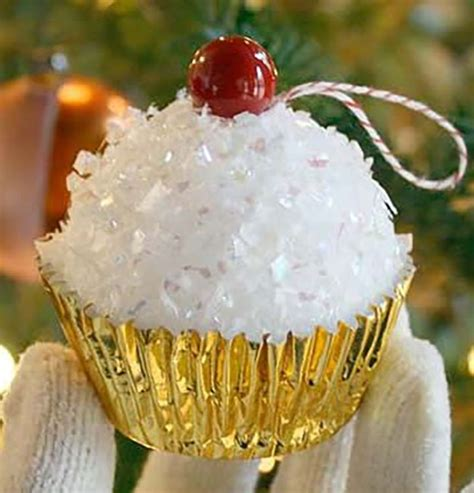 cupcake christmas tree decirations 27 spectacularly easy diy ornaments for your tree diy projects do it yourself projects