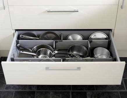 Pot Drawer Dividers by Pan Drawer Divider Kit With Pan Drawer Sides Kitchen
