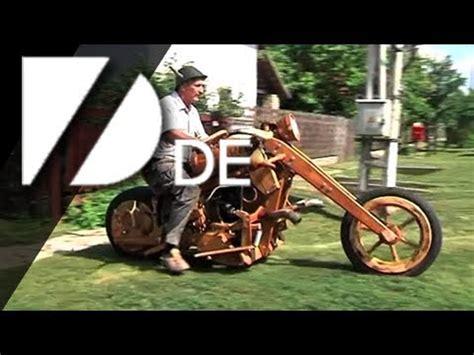 Motorrad Bauen Aus Holz by Ein Motorrad Aus Holz