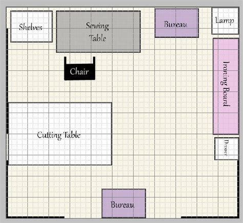 craft room floor plans sewing room layout ideas sewing rooms layouts and room