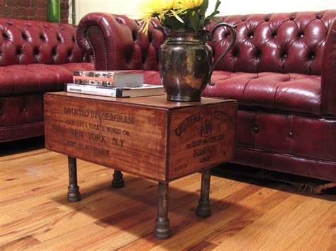 coffee table made out of wine crates 50 projects to make from crates
