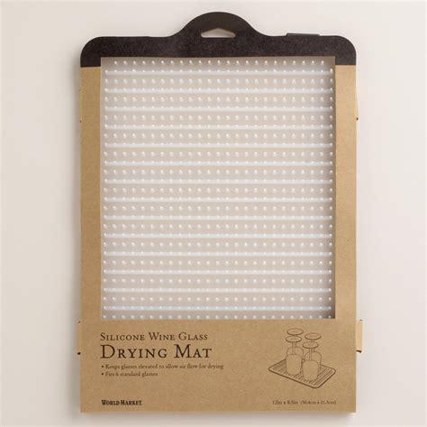 glass drying mat world market