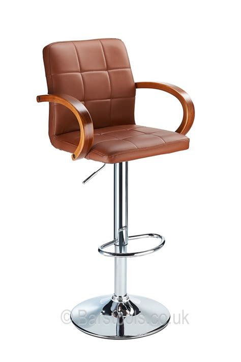 Brown Stools by Finello Bar Stool Brown